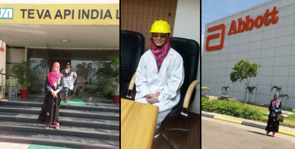 Tasneem Ara Industrial Visit