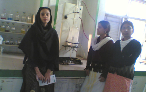 Tasneem Ara during M.Pharm. days