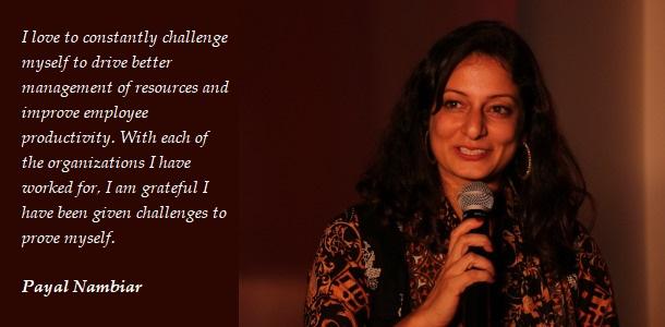 Payal Nambiar - HR - Leader