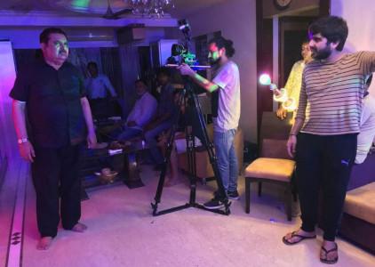 Vedd Rawtaani directing Raza Murad