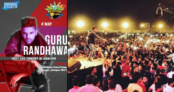Narmada Events Jabalpur - Guru Randhawa