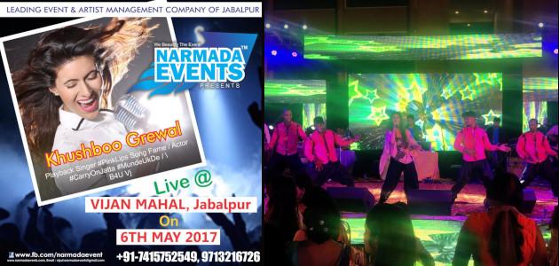 Narmada Events Jabalpur - Khushboo Grewal