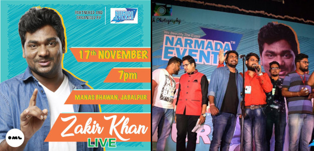 Narmada Events Jabalpur - Zakir Khan