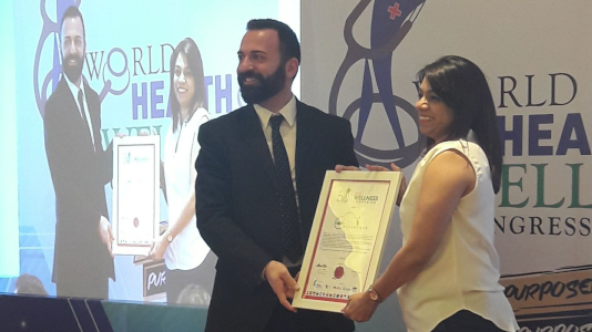 Supriti Singh - World Health Congress Award