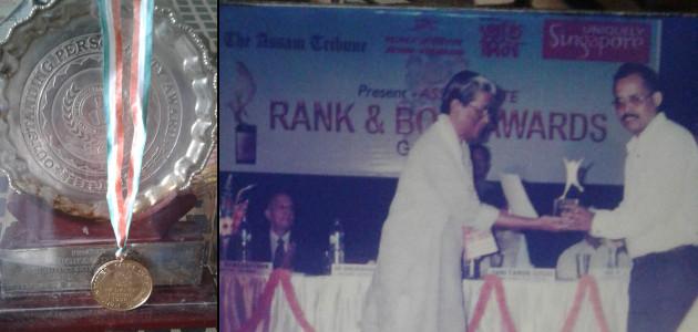 Dr Porag Kalita - Awards