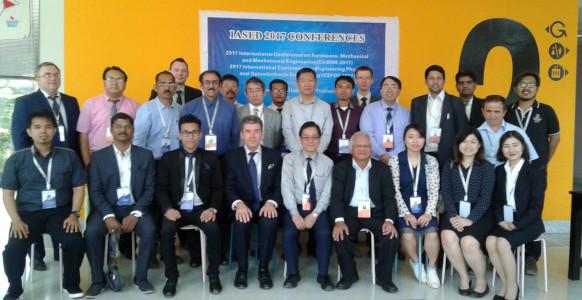 Dr Porag Kalita - International conference at thommasat university bangkok 2017