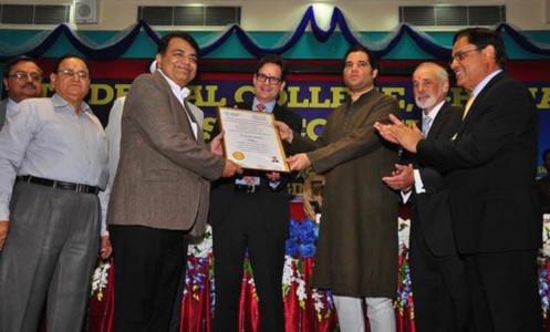 Dr Sanjay Miglani - Award