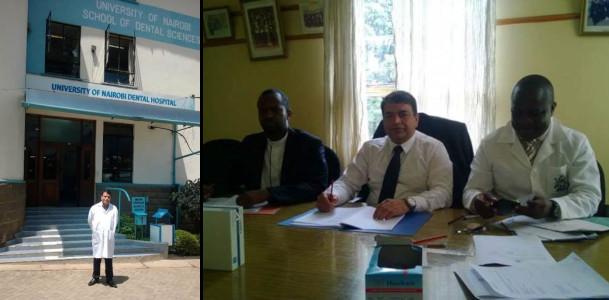 Dr Sanjay Miglani - Examiner to the University of Nairobi, Kenya