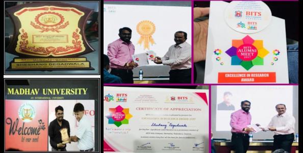 Dr Sheshang Degadwala - Awards2