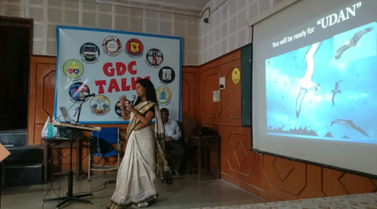 Dr Vandana Gade - Intern orientation in Govt Dental College and Hospital, Nagpur