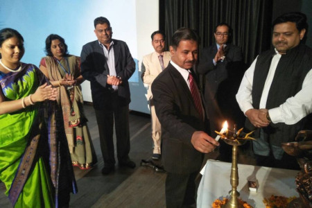 Hardeep Singh - Chief Guest for inaugural session of NCIFTOM'17 at INMANTEC, Ghaziabad