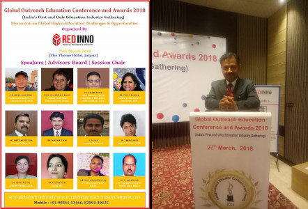 Hardeep Singh - Global Outreach Education Conference and Awards 2018