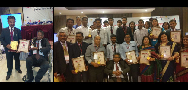 Hardeep Singh felicitated at Global Outreach Education Conference and Awards 2018, Jaipur