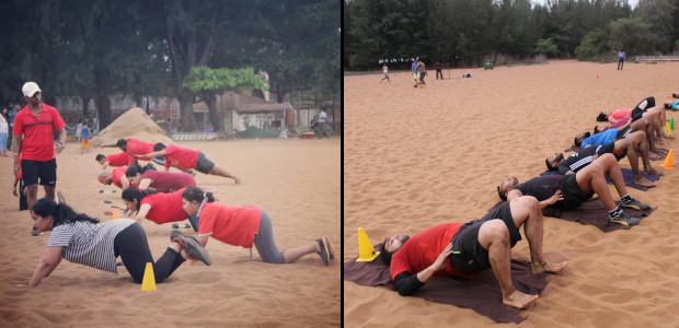 Sunil Fitness Wave - Beach Workout 11