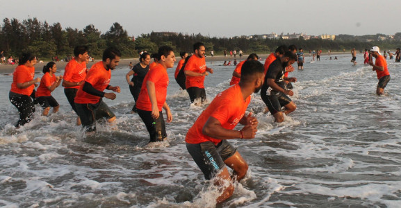 Sunil Fitness Wave - Beach Workout 14