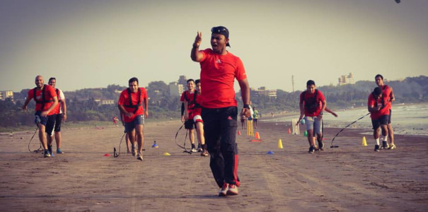 Sunil Fitness Wave - Beach Workout 17