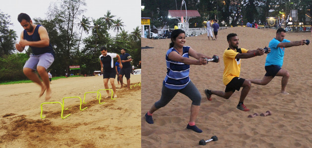 Sunil Fitness Wave - Beach Workout 6