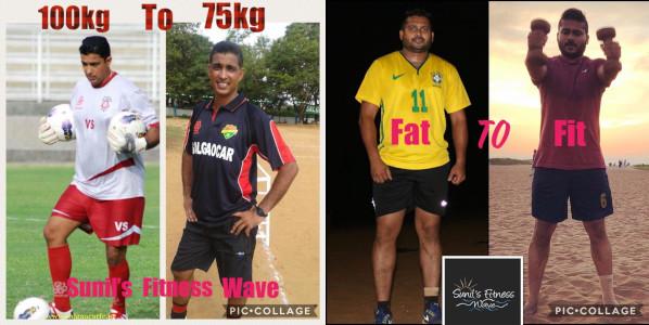Sunil Fitness Wave - Transformation 2