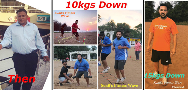 Sunil Fitness Wave - Transformation 4