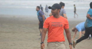 Sunil Karmalkar - Sunil Fitness Wave - Beach Fitness - Cover