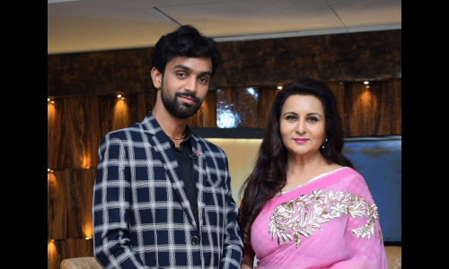 Ankit Bansal participated in a talkshow with actress Poonam Dhillon