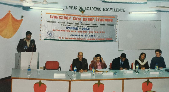 Dhiraj Sud - Faculty Advisor and organizer of Workshop