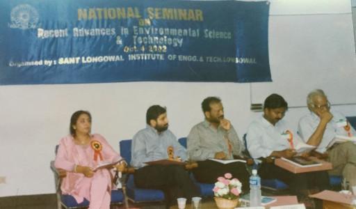 Dhiraj Sud - Organizer of National Seminar