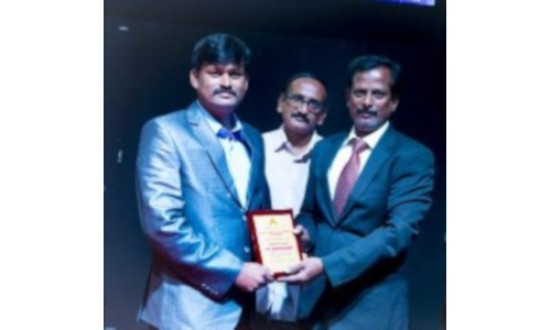 Dr K Pattabiraman - Award for Best Young Researcher and Outstanding Faculty in Mathematics received in Thailand in 2018