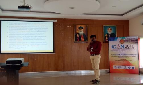 Dr K Pattabiraman - Resource Person - ICAN 2018