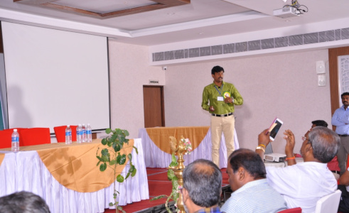 Dr K Pattabiraman - Resource Person - National Conference on Natural Sciences