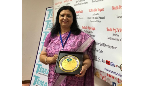 Dr Ranjana Jha - 12th National Education Summit and Awards 2018