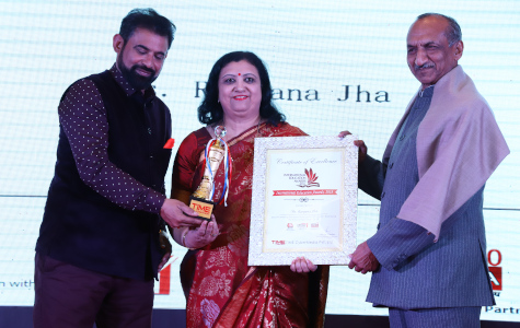 Dr Ranjana Jha - International Education Awards, 2019