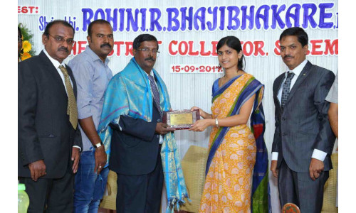 Dr T Subramani - Excellence Service in Civil Engineering