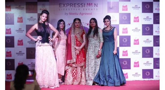 Neetu Agrawal - Exhibition Fashion Show 2