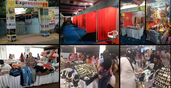 Neetu Agrawal - First Big Scale Exhibition - Saket Club - Navratri Theme