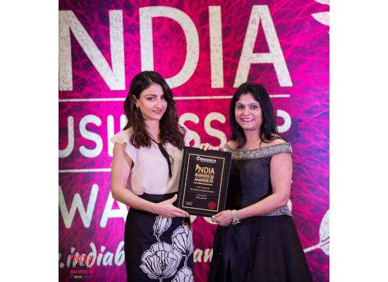Neetu Agrawal - India Business Award 2018