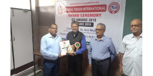 Dr Qamrul Hasan Lari - Young Researcher GTI Award 2019