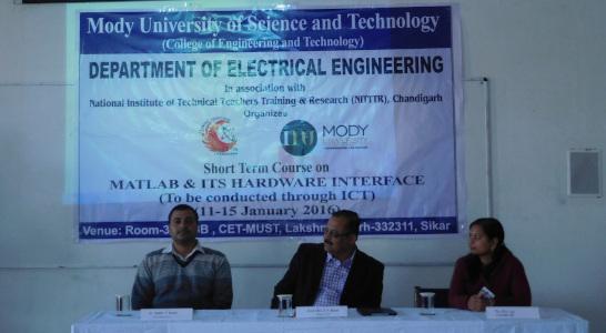 Dr Sudhir Kumar - Short term course launch at intistution - 2016
