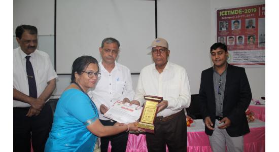 Dr Anupama Ghoshal - Felicitation 2