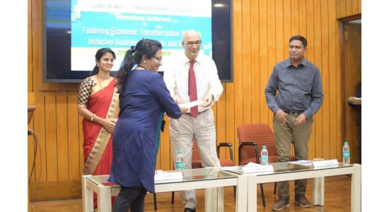 Dr Anupama Ghoshal - Felicitation
