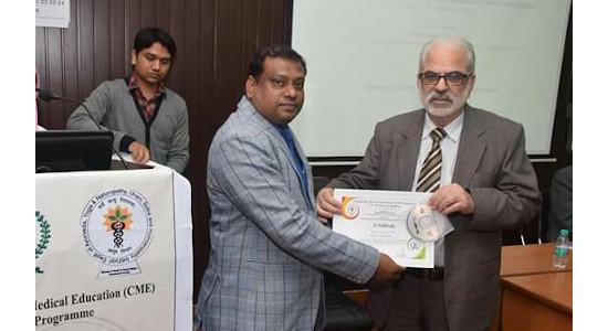 Dr Qamrul Hasan Lari - As Delegate in CME for Teachers of Kulliyat 2018