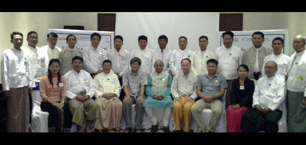 Dr Sandeep Shastri - Workshop - Political leaders of Mandalay Region Burma - 2015