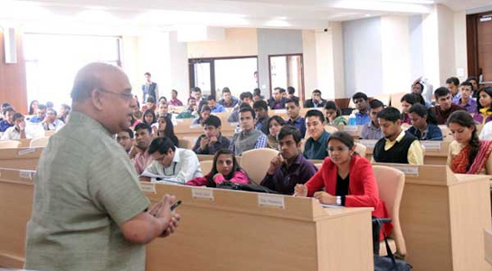 Dr Sandeep Shastri - workshop with IAS-Probationers-LBSNAA-2016