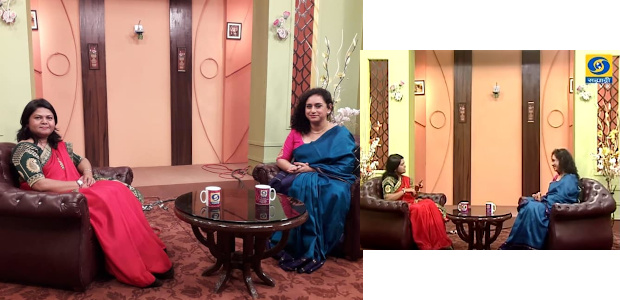 Dr Sandhya Khedekar - Special Interview on DD Sahyadri TV Channel on Women's Day
