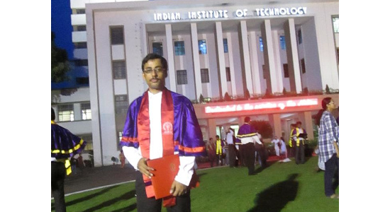 Dr Subhasis Roy - PhD in Materials Science from IIT Kharagpur