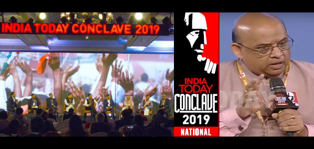 Dr. Sandeep Shastri - India Today Conclave - 2019