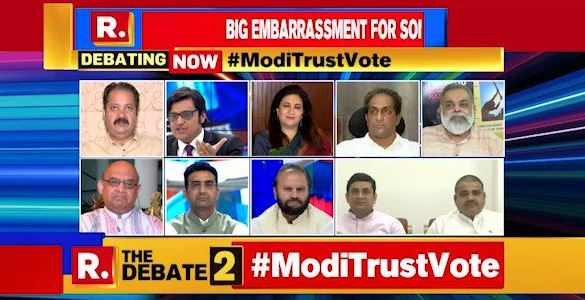 Dr. Sandeep Shastri - Panelists on Republic TV Debate
