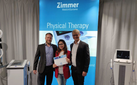 Mamta Biyani - Zimmer Physical Therapy Training Germany