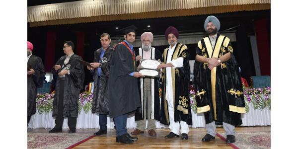 Dr NItesh Kumar Jha - Convocation