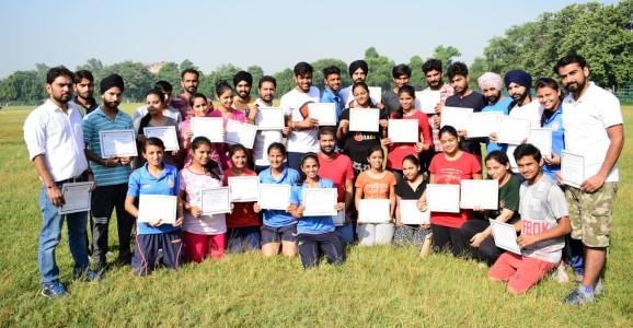 Dr Nitesh Kumar Jha - Physical Activity Program at GNDU Amritsar